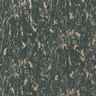 Superfresco Milan Wallpaper Charcoal / Rose Gold Graham & Brown 107969
