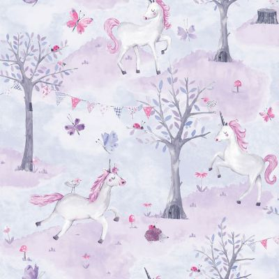 Little Ones Eco Safari Wallpaper Multi GranDeco LO2201
