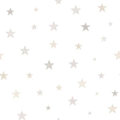 Little Ones Eco Polka Dots Wallpaper Grey GranDeco LO2603