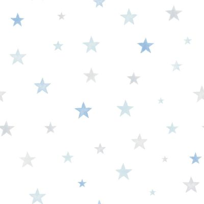 Little Ones Eco Stars Wallpaper Yellow GranDeco LO2703