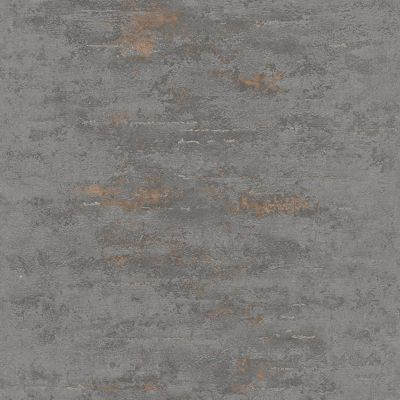 Orion Rocca Industrial Texture Wallpaper Dark Grey / Copper GranDeco ON4201