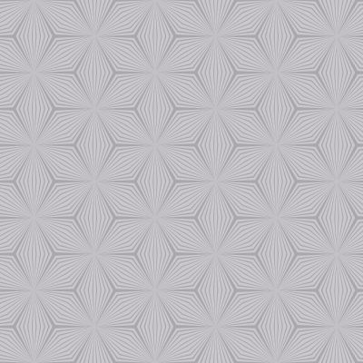 Geometric Star Wallpaper Silver / Grey Holden 12618