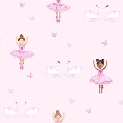 Ballerina Wallpaper Pink Holden 12460
