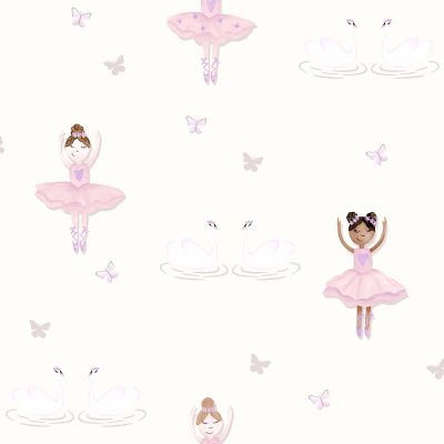 Ballerina Wallpaper Cream Holden 12461