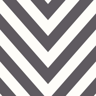 Chevron Zig Zag Wallpaper Black / White Holden 12574