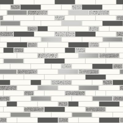 Holden Tiling on a Roll Oblong Granite Wallpaper Black (89191)