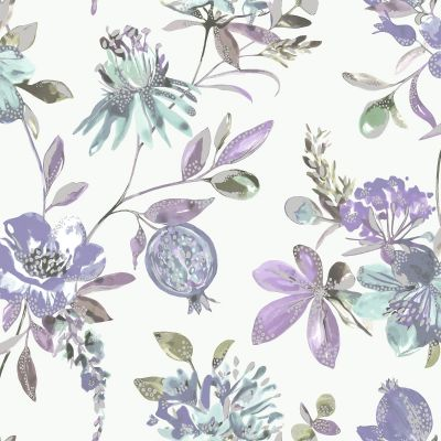 Holden Melgrano Floral Wallpaper Blush Pink 90522