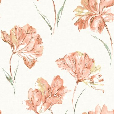 Elements Azalea Wallpaper Orange Holden 90480