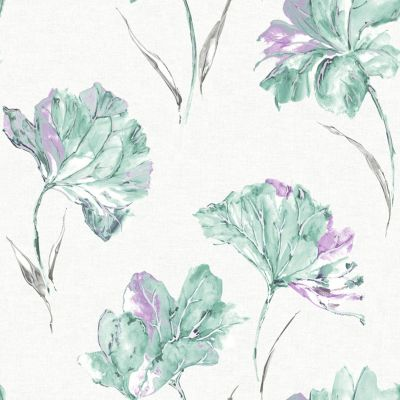 Elements Azalea Wallpaper Lilac Holden 90482