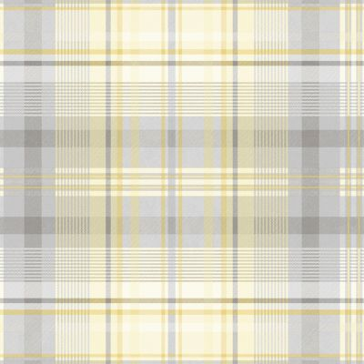 Patterdale Yellow/Grey Wallpaper Holden 90832