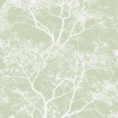 Whispering Trees Glitter Wallpaper Green Holden 65620