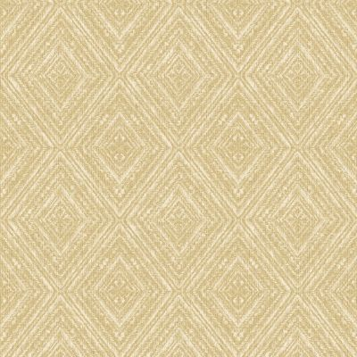 Imani Geometric Wallpaper Yellow Holden 65672