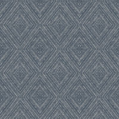 Imani Geometric Wallpaper Navy Holden 65673