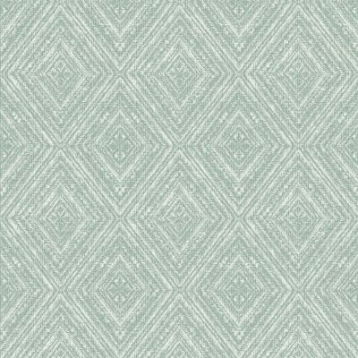 Imani Geometric Wallpaper Soft Teal Holden 65674