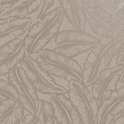 Elgin Tropical Leaf Wallpaper Taupe Holden 65731