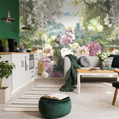 Utopia Floral Wall Mural Multi Holden 99345