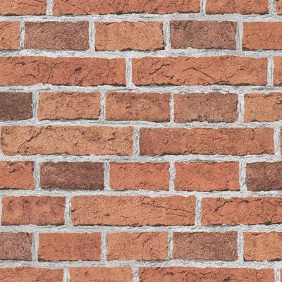 Red Brick Effect Wallpaper