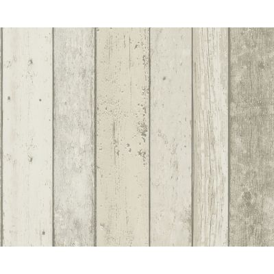 New England Natural Wood Effect Wallpaper