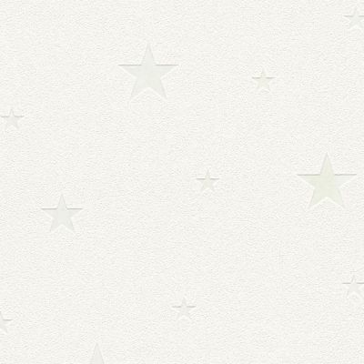 Glow in the Dark Stars Wallpaper White - AS Creation 32440-1 | Feature