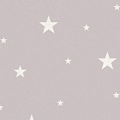 Glow in the Dark Stars Wallpaper Taupe - AS Creation 32440-2 | Feature