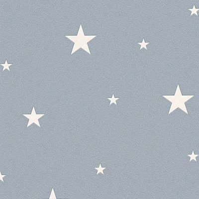 Glow in the Dark Stars Wallpaper Grey - AS Creation 32440-3 | Feature