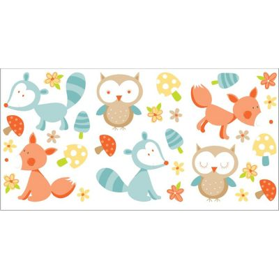 Forest Friends Wall Stickers - 29 Pieces