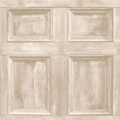 Distinctive Wood Panel Wallpaper - Cream - Fine Decor FD31054 | Feature