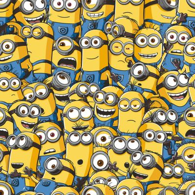 Despicable Me Sea of Minions Wallpaper | Bedroom | Bedding