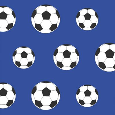 Goal Football Wallpaper - Dark Blue 9721 Belgravia Decor | Bedroom