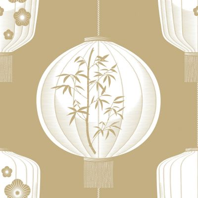 Lucky Lantern Wallpaper Seagrass Mini Moderns AZDPT045SE