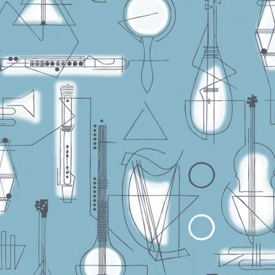Concert Wallpaper Chalkhill Blue Mini Moderns AZDPT039CB