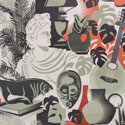 Art Room Wallpaper British Lichen Mini Moderns AZDPT032BL