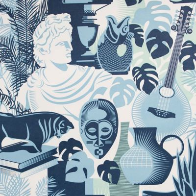Art Room Wallpaper Chalkhill Blue Mini Moderns AZDPT032CB