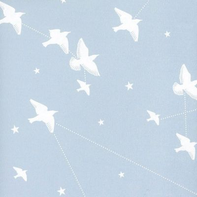 Star-ling Wallpaper Powder Blue Mini Moderns AZDPT029PB