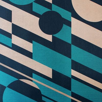 P.L.U.T.O. Wallpaper Lido & Copper Mini Moderns AZDPT027LI
