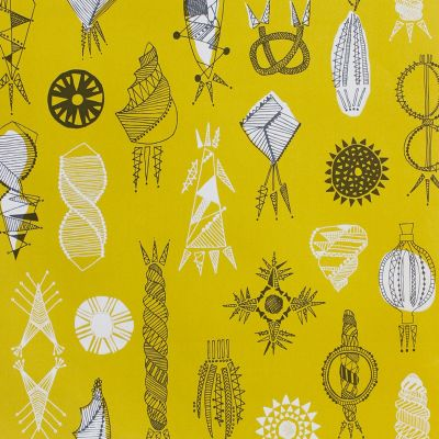 Equinox Wallpaper Mustard Mini Moderns AZDPT026MU