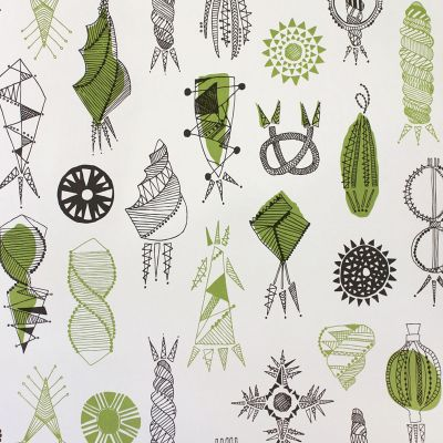 Equinox Wallpaper Asparagus Mini Moderns AZDPT026AS