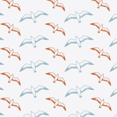 Gulls Wallpaper Chalkhill Blue Mini Moderns AZDPT025CB