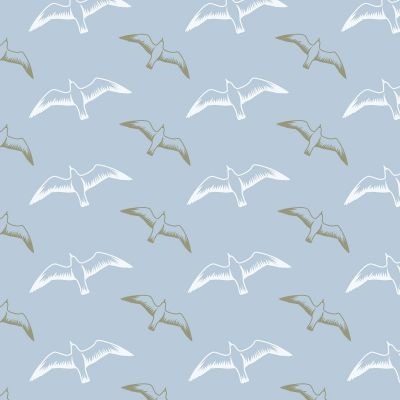Gulls Wallpaper British Lichen Mini Moderns AZDPT025BL