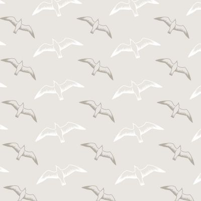 Gulls Wallpaper Stone Mini Moderns AZDPT025ST
