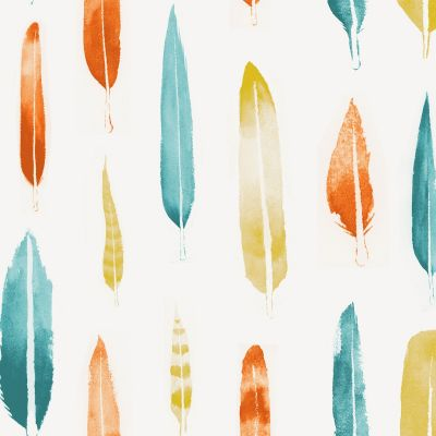 Feathers Wallpaper Lido Mini Moderns AZDPT024LI