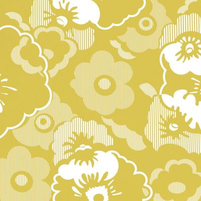 Alice Wallpaper Mustard Mini Moderns AZDPT011MU