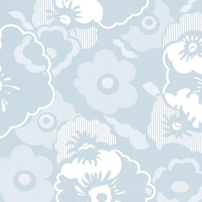 Alice Wallpaper Powder Blue Mini Moderns AZDPT011PB