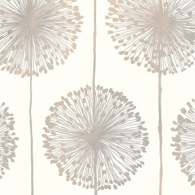 Dandelion Wallpaper Green Muriva J04204