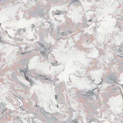 Elixir Marble Wallpaper Rose Gold / Grey Muriva 166502