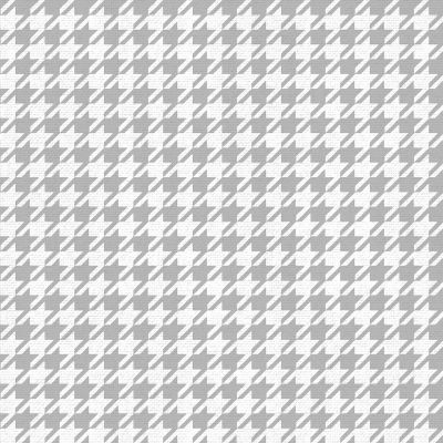 Houndstooth Wallpaper Silver/White Muriva 179502
