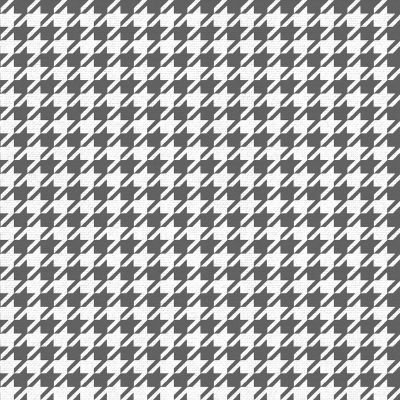 Houndstooth Wallpaper Black/White Muriva 179501