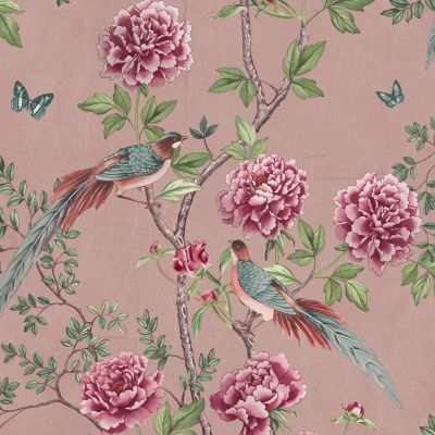 Paloma Home Vintage Chinoiserie Wallpaper Blossom 921502