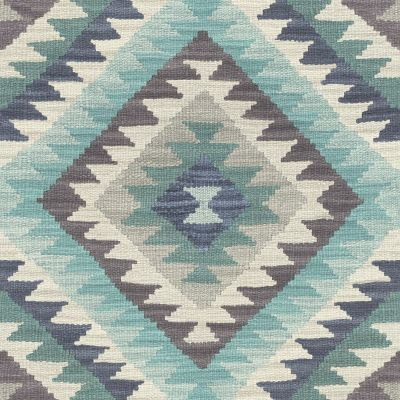 Barbara Home Kilim Rug Style Aztec Wallpaper - Pink and Multi - Rasch 527445