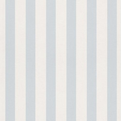 Bambino XVIII Narrow Stripe Wallpaper Grey / White Rasch 246001